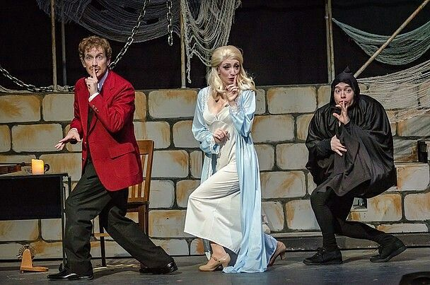 Matt as Igor in Young Frankenstein at Silhouette Stages pure comedic genius!!