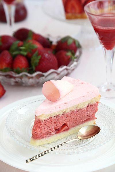 "Торт ""Розовые грезы"" - elaizik.ru"