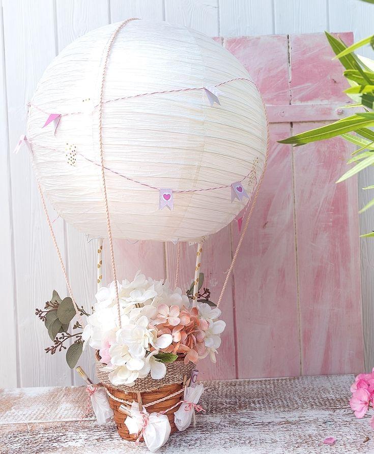 Money present for the wedding: hot air balloon itself …