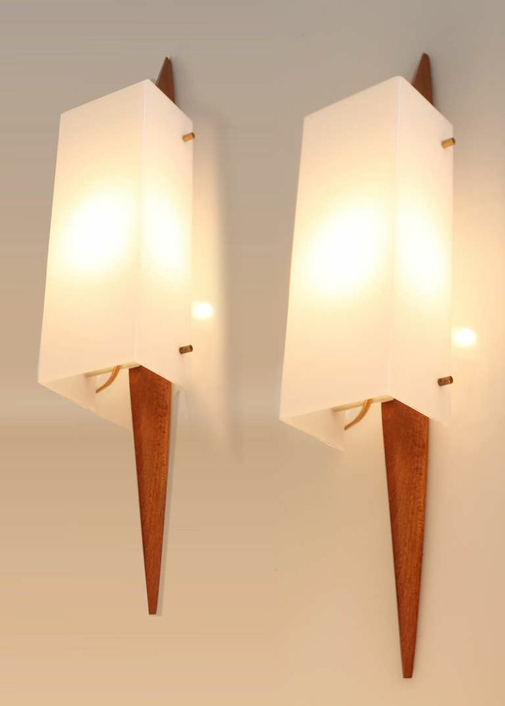 123 best midcentury modern images on pinterest - Mid century modern exterior lighting ...