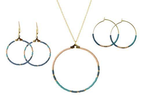 smykker med delica perler