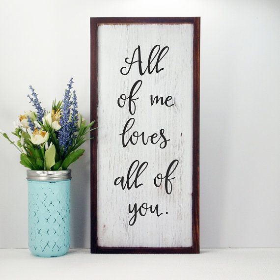 Framed Hand Painted  Wood Sign Made From by CountryLivingAtHeart