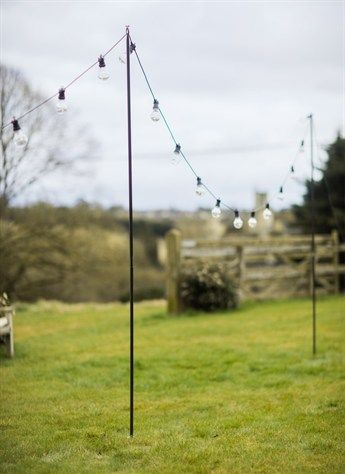 Festoon Pole Outdoor Outdoor Lighting Garden Poles