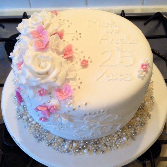 Wedding Anniversary Cake