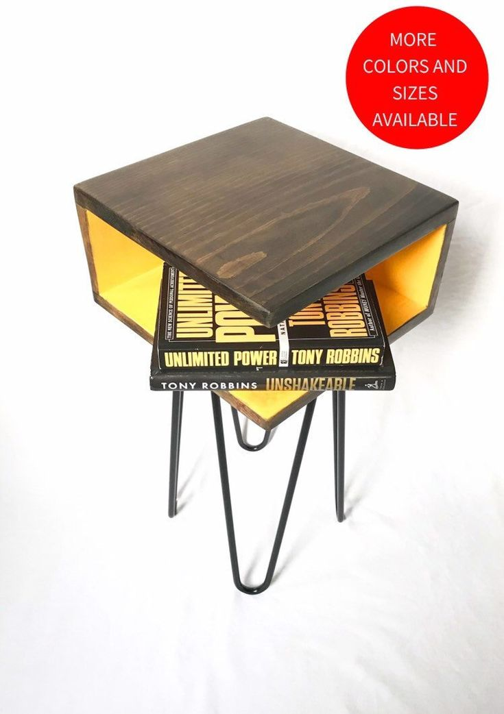 Best Handmade Bed Side Table Or Nightstand Solid Wood Retro 640 x 480
