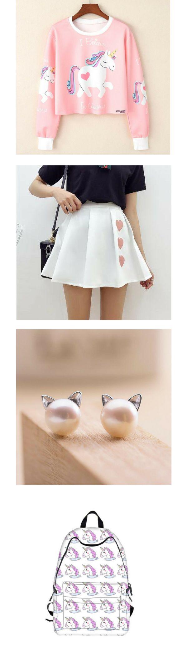 This is the perfect combination to look Kawaii <3   Kawaii fashion, Kawaii Clothes, Cute clothes, Japanese clothing, japanese fashion, Kawaii store, harajuku fashion, japanese clothing brands