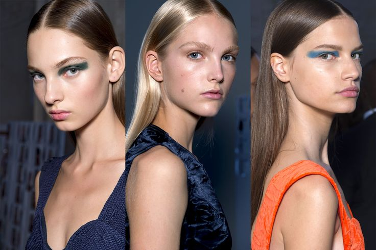 Every Makeup Look You Need to See From New York Fashion Week Spring 2017 | Victoria Beckham - The Vibe: Sleek and Polished