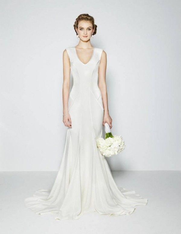 Robes de mariée 2015 avec corsages structurés - Nicole Miller