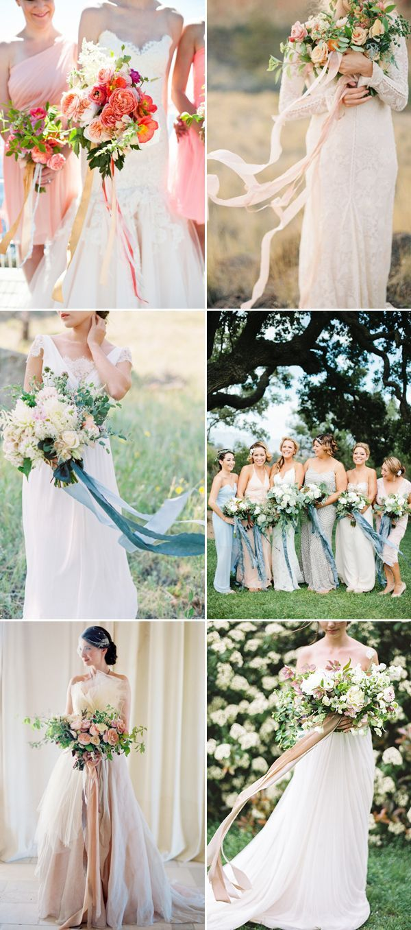 Nothing expresses the romance and beauty of a wedding more than flowers.  If you are planning your wedding this year and wondering what some of the hottest trends are in bouquets, we've got the answers for you! Forget compactly arranged, symmetrical bouquets, in their place we see wild, loose, cascading designs adorned with free spirit …