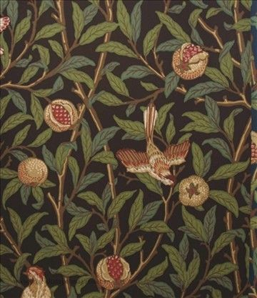 William Morris Bird & Pomegranate (Engelska Tapetmagasinet)