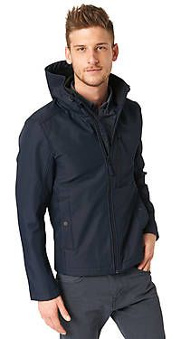 tom tailor trendige softshell jacke f r herren softshell jacke. Black Bedroom Furniture Sets. Home Design Ideas