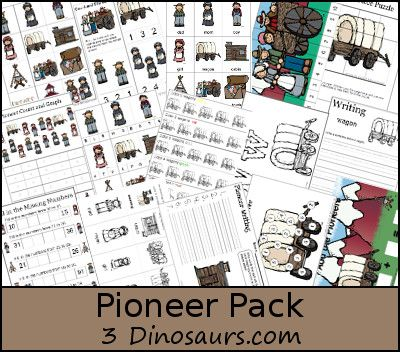FREE Pioneer Themed Learning Pack
