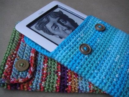 Kindle cover. This page has a bunch of cheap crochet patterns.