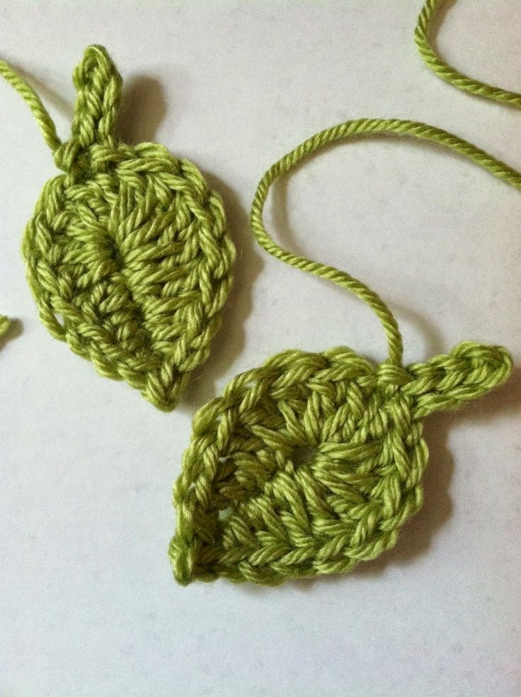 "Lakeview Cottage Kids: A ""Little Leaf"" ....... FREE Crochet Leaf Pattern!!!"