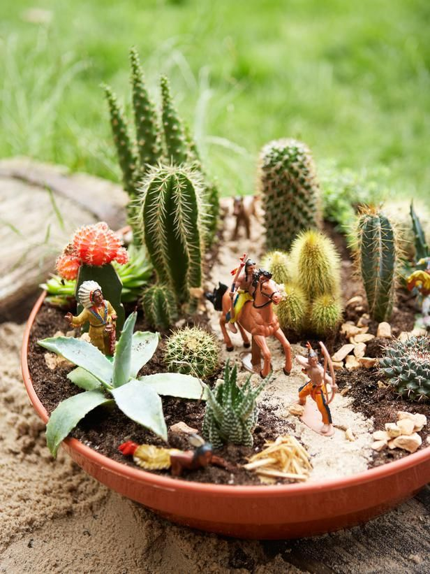 Succulent Dish Garden Ideas find this pin and more on paysages dans pots casss en terre cuite pot nesting idea with succulents Cactus Dish Garden Flower Garden Galleries Hgtv Home Garden Television