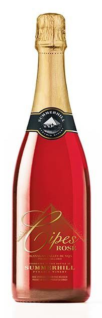 Cipes Rose wins world competition. - contributed -- Summerhill sparkling wine judged among top in world, Kelowna