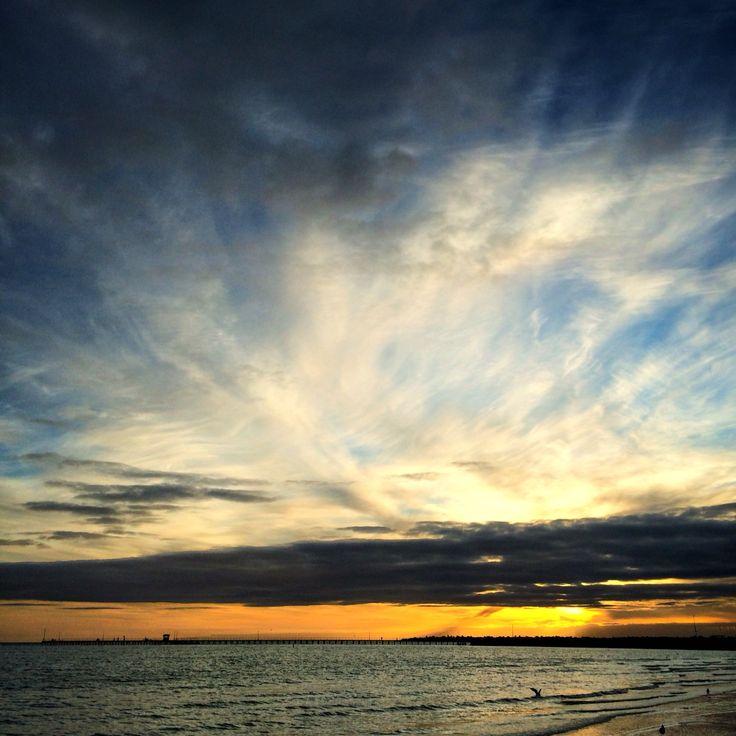 Sunset over MordiallocPier