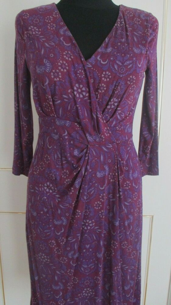 White Stuff Purple Fixed Wrap Dress Size 10 12 Fashion Clothing Shoes Accessories Womensclothing Dresses Ebay L Floral Dresses Uk Dresses Tunic Dress Uk