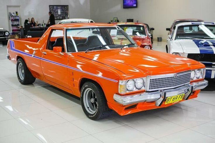 1978 Holden Kingswood HZ Orange A Utility