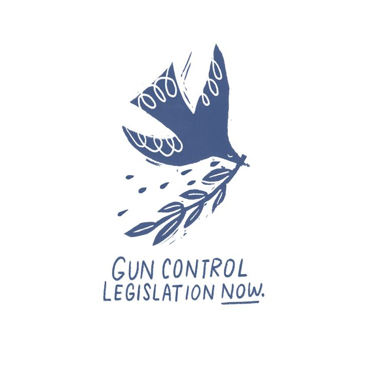 Gun Control Legislation - Free postcard — Penelope Dullaghan