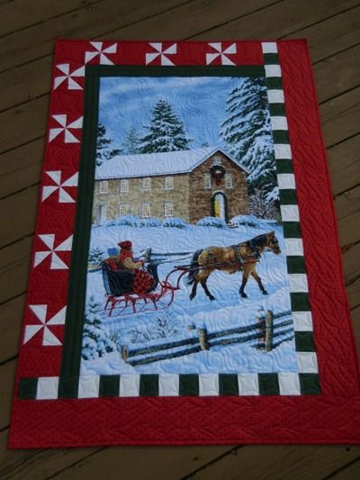 Vicki's Crafts and Quilting: Wonky Sleigh Ride More