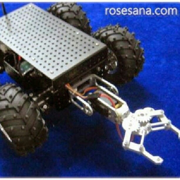 4WD Chassis Robot Arm The purpose of the current development of the robotics industry is that robots can replace human work including this robot is the hope that the future can play the role of lifeguard or firefighter in a difficult environment you can enter the disaster-stricken area to remove obstacles and clear a lifesaving channels. - See more at: http://ift.tt/1NRSr4b