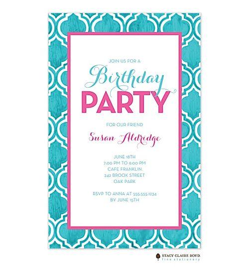 52 best partyinvitationscom Sweet Sixteen 16 Birthday Party