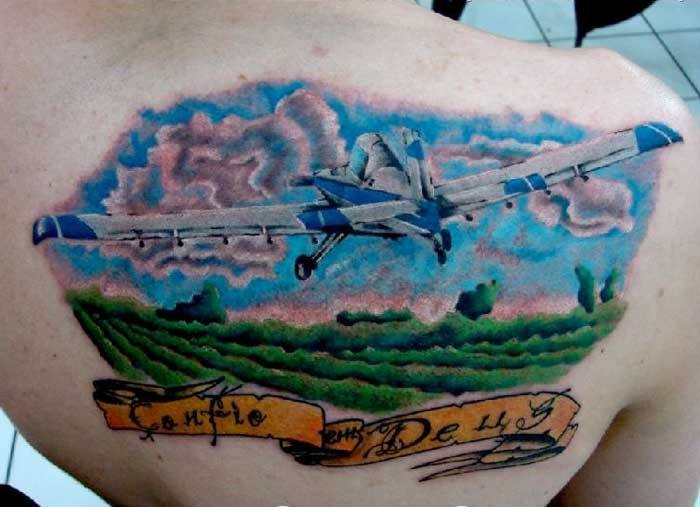 Aviation tattoos  Vintage Wings of Canada