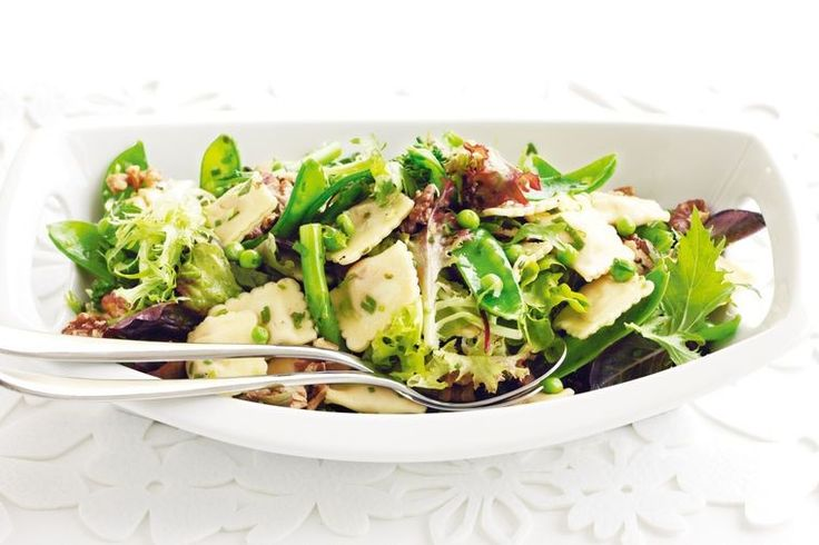 This clever take on pasta salad makes a lovely light meal for lunch or dinner.