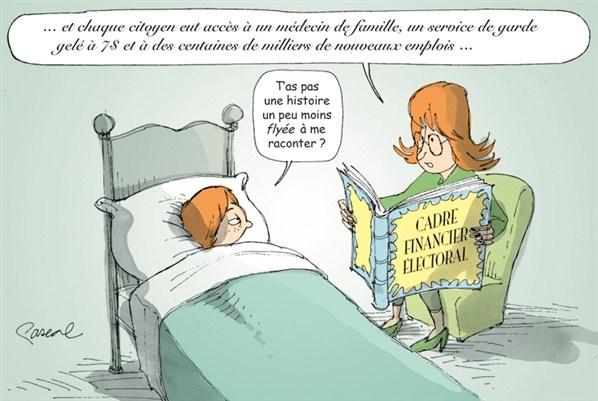La caricature du jour - Mardi 28 août (© Pascal Elie)