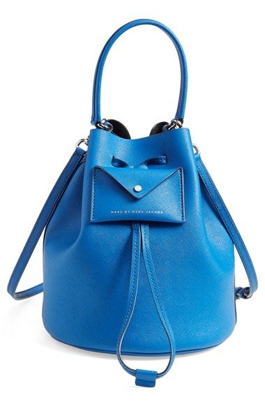MARC+BY+MARC+JACOBS+'Metropoli'+Leather+Bucket+Bag+available+at+#Nordstrom