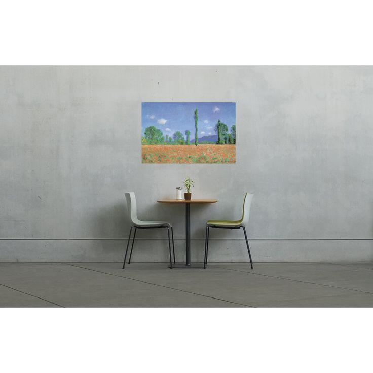 MONET - POPPIED FIELD #artprints #interior #design #art #prints #Monet  Scopri Descrizione e Prezzo http://www.artopweb.com/autori/claude-monet/EC16960