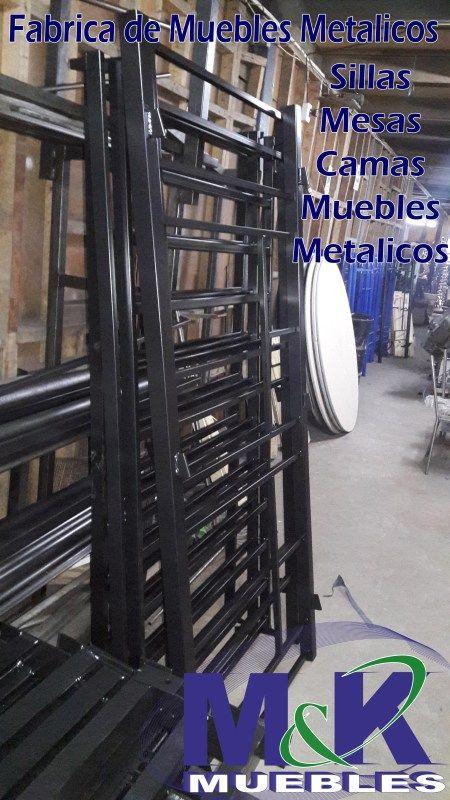 muebles metalicos, camarotes triples