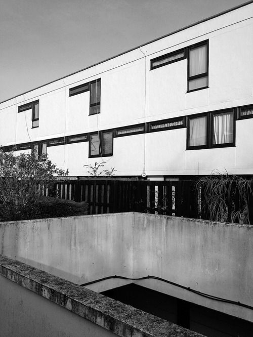 Fleet Road Housing, London NW3, Neave Brown, Camden Council's Archiects Department, 1971-1975 Photo: Simon Phipps