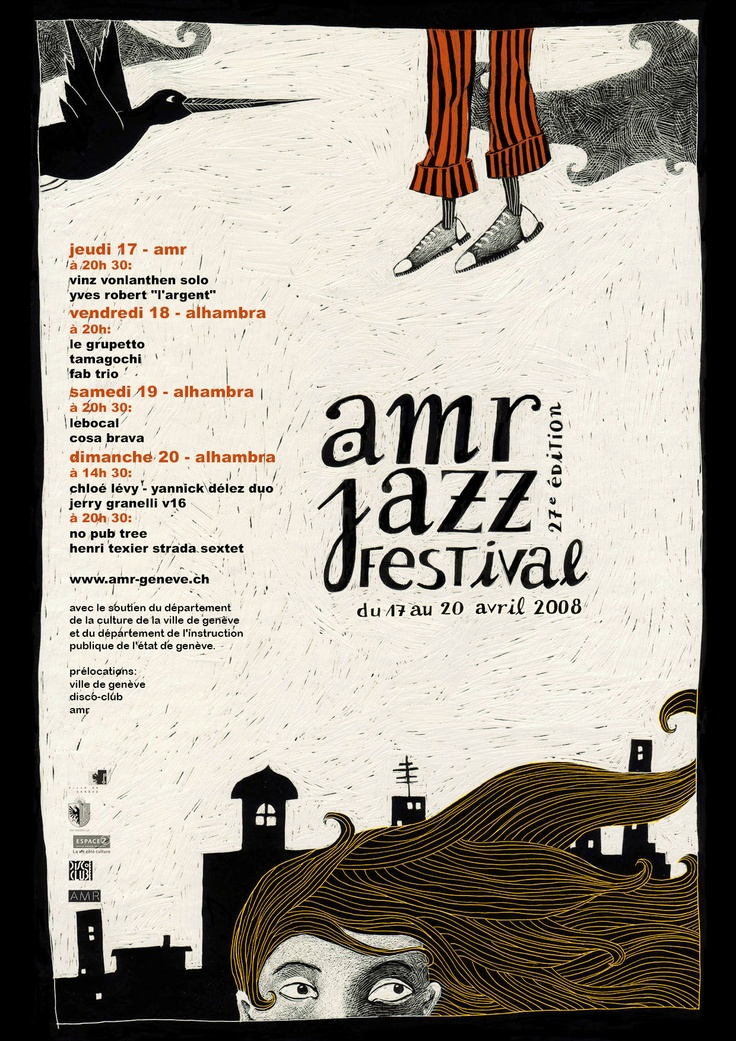 AMR Jazz Festival-great poster.