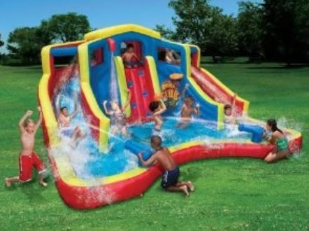 outdoor kids pools water slides play sets httprentsheds - Big Houses With Pools With Slides