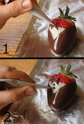 Tuxedo Strawberries how to do