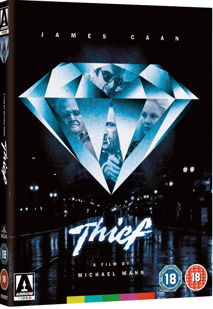Thief michael mann blu ray recensie it s only a movie