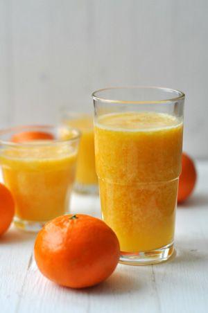 Mandarin turmix - emésztés javító hatású frissítő laktózmentes turmix
