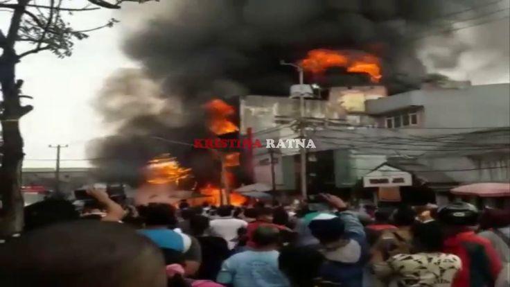 Detik-Detik Pasar Kebayoran Lama Kebakaran 13 Juni 2017