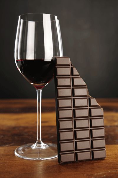 Do you like red wine and dark chocolate? Of course you do. Well, good news: your body likes it too.