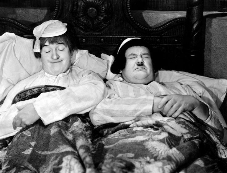 #Laurel and #Hardy #sleeping