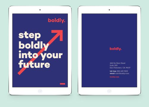 88 best charity branding images on pinterest graphic projects identity design i designed the identity for the boldly a service supporting young adults by facilitating the transition from high school to college o fandeluxe Choice Image