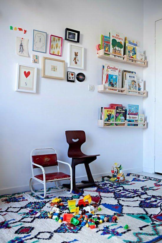 10 Habitaciones infantiles llenas de color