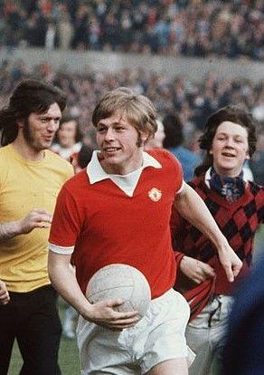 Brian Greenhoff Manchester United 1975