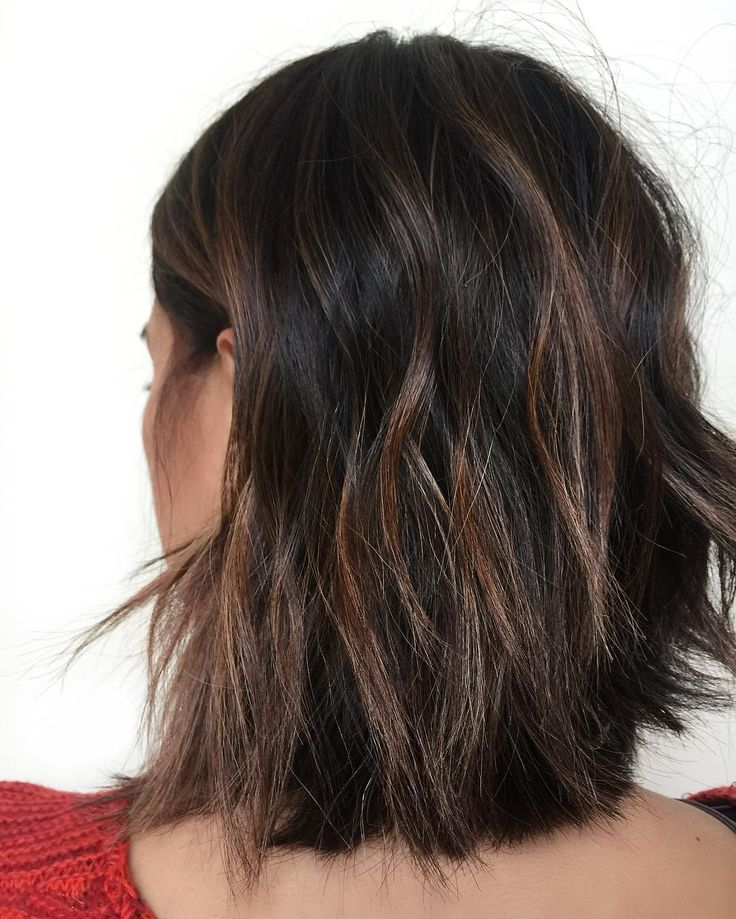 Best 25+ Dark hair with highlights ideas only on Pinterest ...