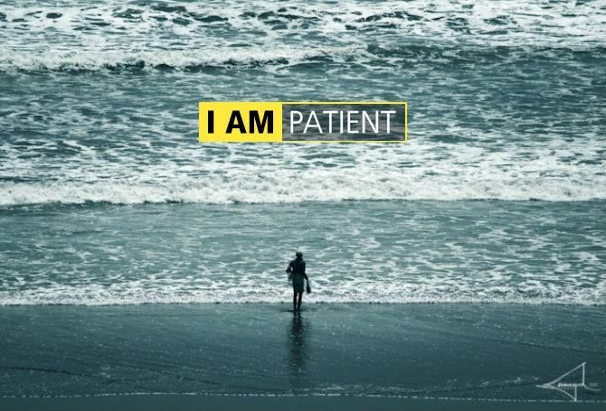 I AM PATIENT...  Featured on I AM NIKON campaign