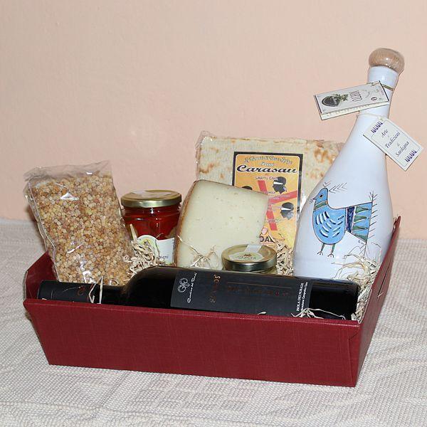 Maidopis, cesto regalo con prodotti tipici sardi - SardinianStore.com