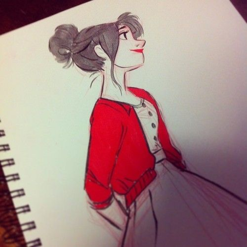 female character sketch idea