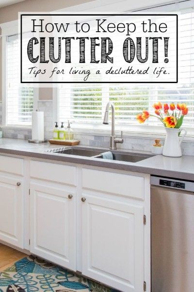 Do you need to learn how to keep clutter away? Follow these practical guidelines to live a decluttered life!